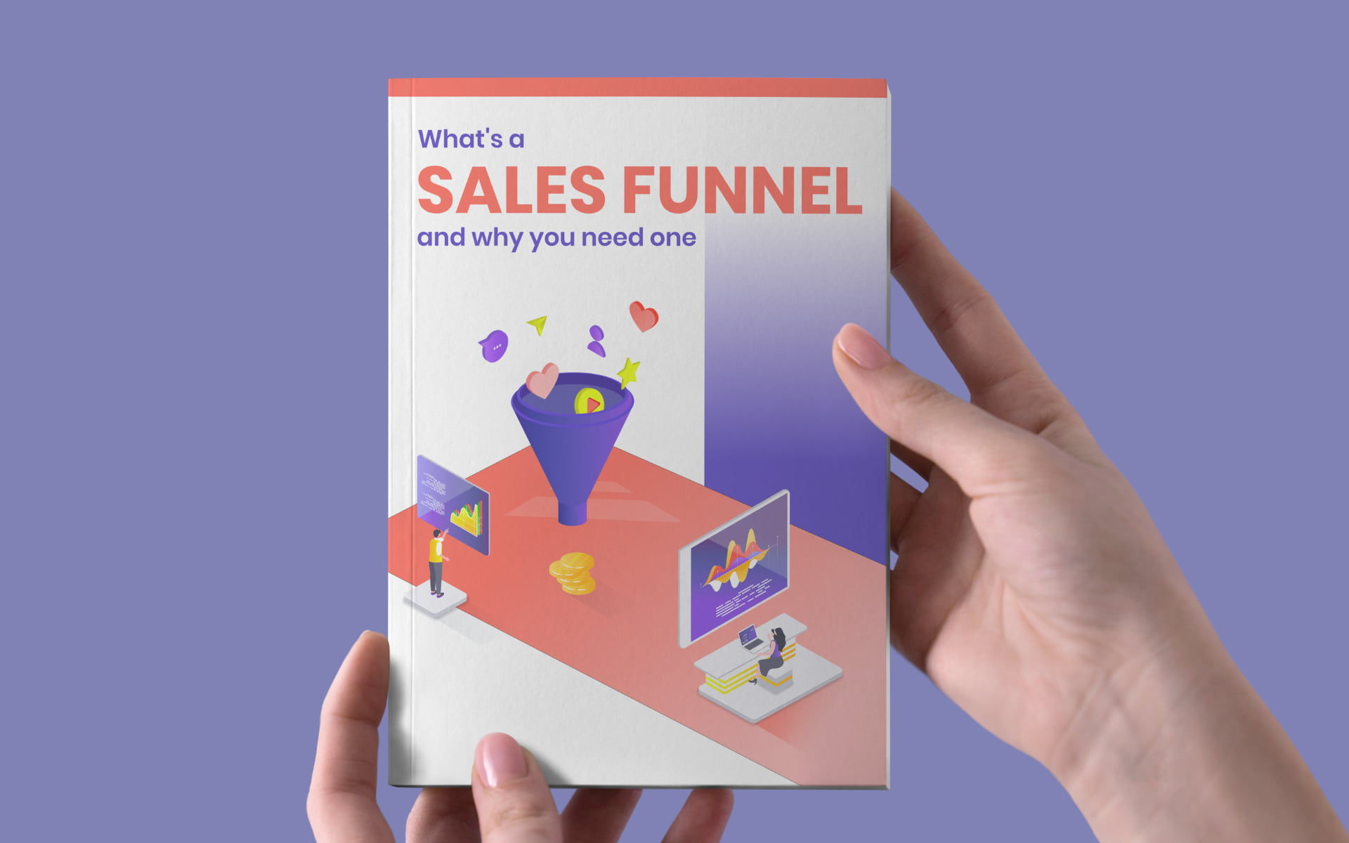 e-book cover funnels